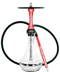 ALPHA HOOKAH MODEL X ARTIST COLLECTION RED MATTE
